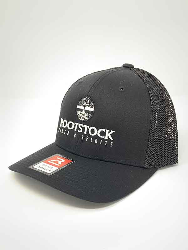 Flexfit Hat  - Black-Black